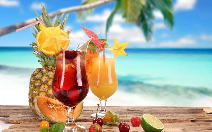 Tropical Drinks-1920