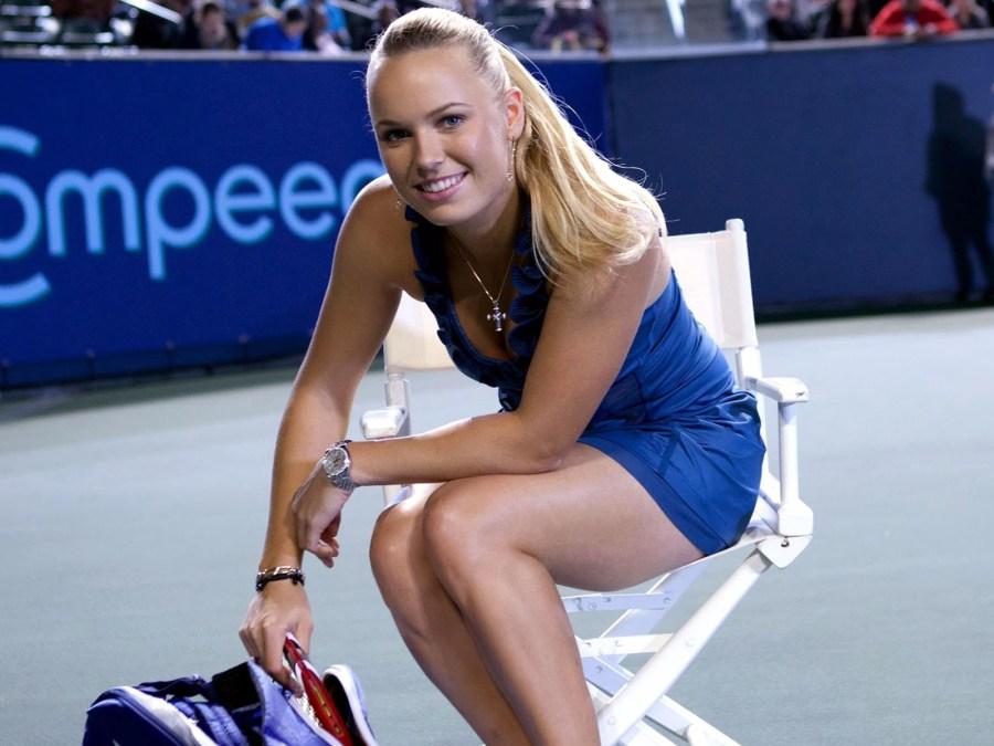 Awesome Tennis Player Caroline Wozniacki