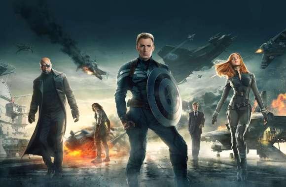 Captain America: The Winter Soldier Movie HD Wallpaper
