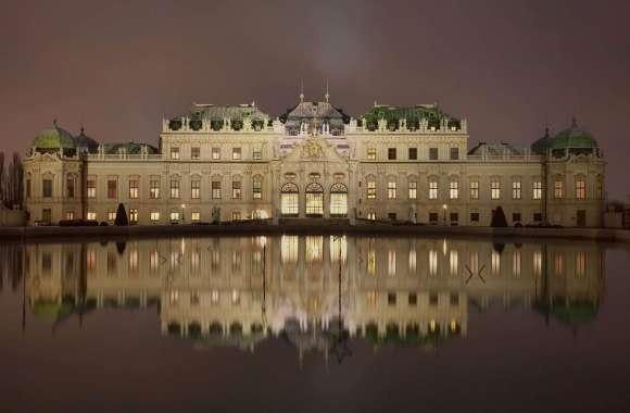 Imperial Palace, Vienna, Austria HD Wallpaper