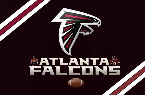 Atlanta Falcons Football Logo HD Wallpaper