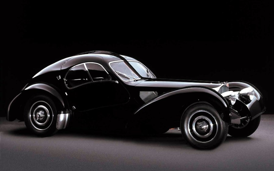 Bugatti Atlantic Iconic Car Design HD Wallpaper