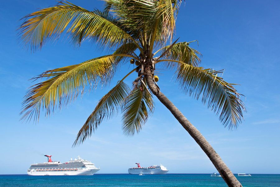 Photo of Cruise Ships in Caribbean HD Wallpaper by Wallsev.com