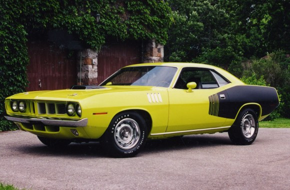 1971 Plymouth Hemi Cuda HD Wallpaper