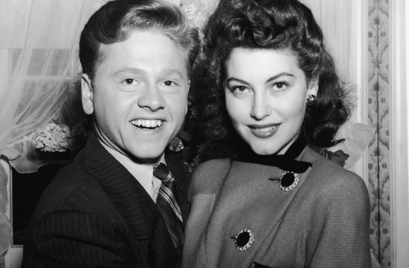 Mickey Rooney and Ava Gardner HD Wallpaper