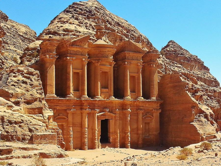 The Monastery Petra Jordan HD Wallpaper by Wallsev.com