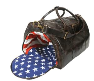 Custom weekender bag