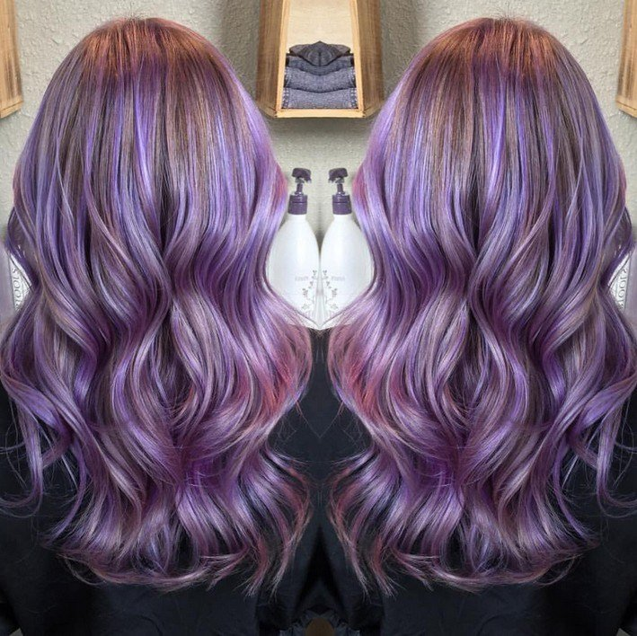 New 21 Gorgeous Pastel Purple Hairstyles Pretty Designs Ideas With Pictures