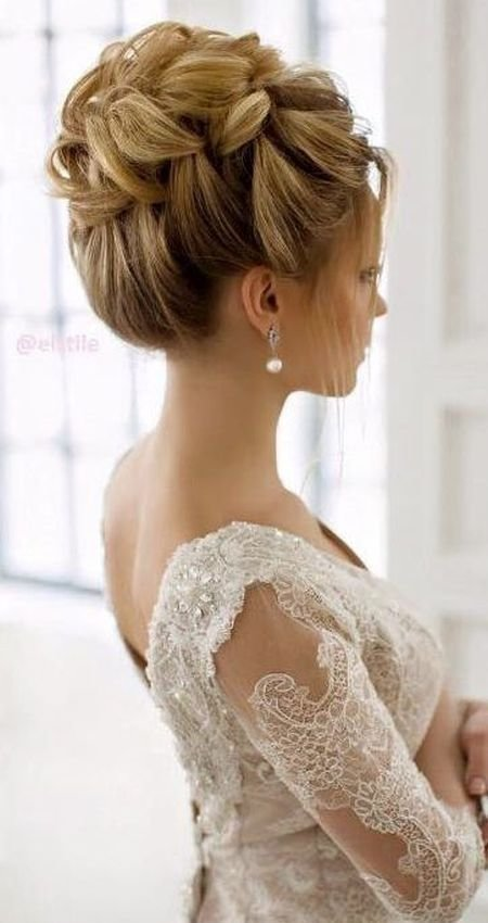 New 73 Unique Wedding Hairstyles For Different Necklines 2017 Ideas With Pictures