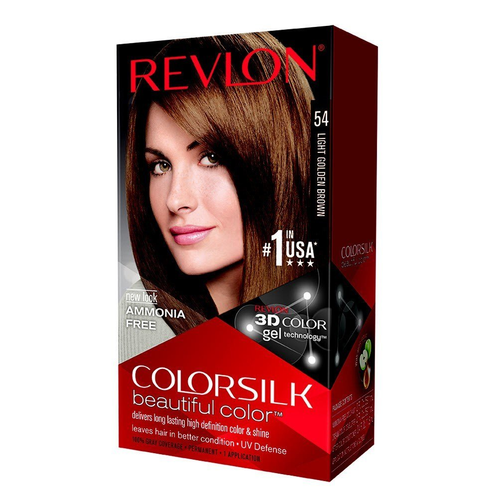 New Colorsilk Permanent Color Light Golden Brown 54 1 Ideas With Pictures