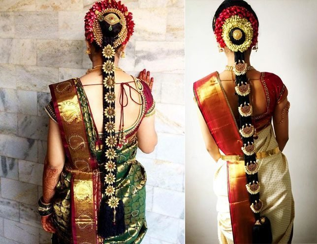 New 60 Traditional Indian Bridal Hairstyles For Your Wedding Ideas With Pictures
