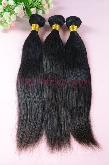New Natural Color Silky Straight Malaysian V*Rg*N Hair Weave Ideas With Pictures