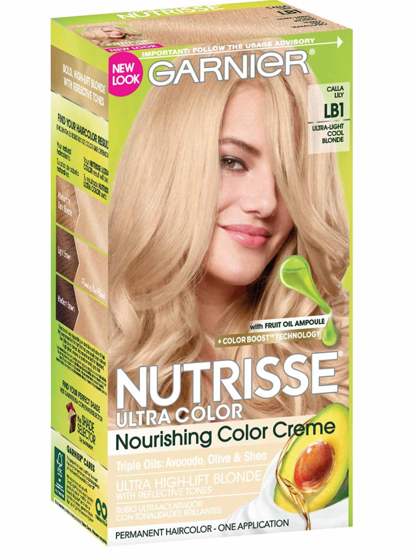 New Nutrisse Ultra Color Ultra Light Cool Blonde Hair Color Ideas With Pictures