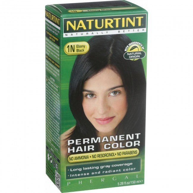 New Naturtint Hair Color Permanent 1N Ebony Black 5 Ideas With Pictures