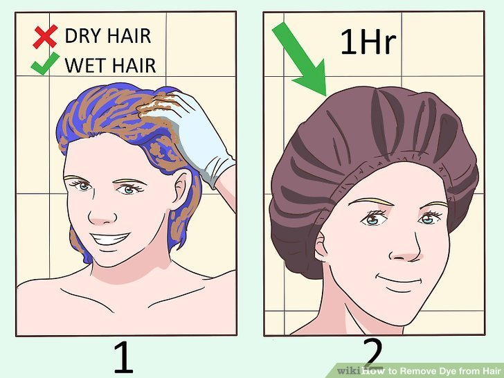 New 4 Ways To Remove Dye From Hair Wikihow Ideas With Pictures