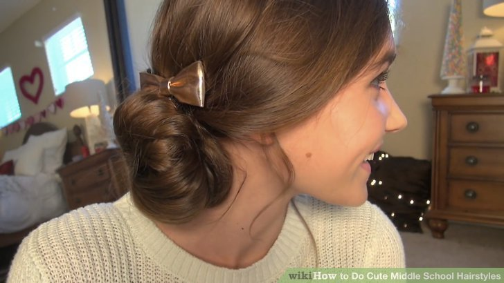 New 4 Ways To Do Cute Middle School Hairstyles Wikihow Ideas With Pictures