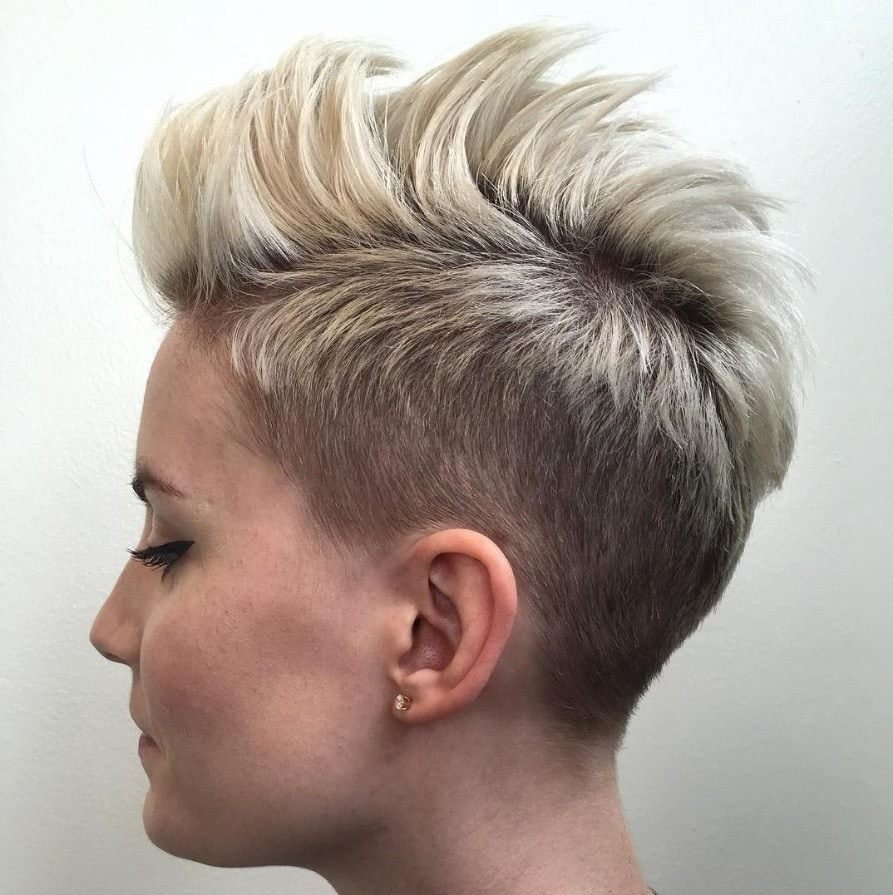 New 17 Best Mohawk Hairstyles For Women All Things Hair Uk Ideas With Pictures