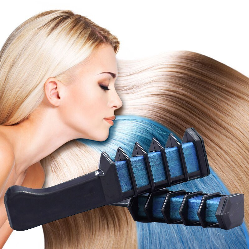 New Hair Fashion Temporary Color Hair Brush Chalk Pastel Ideas With Pictures