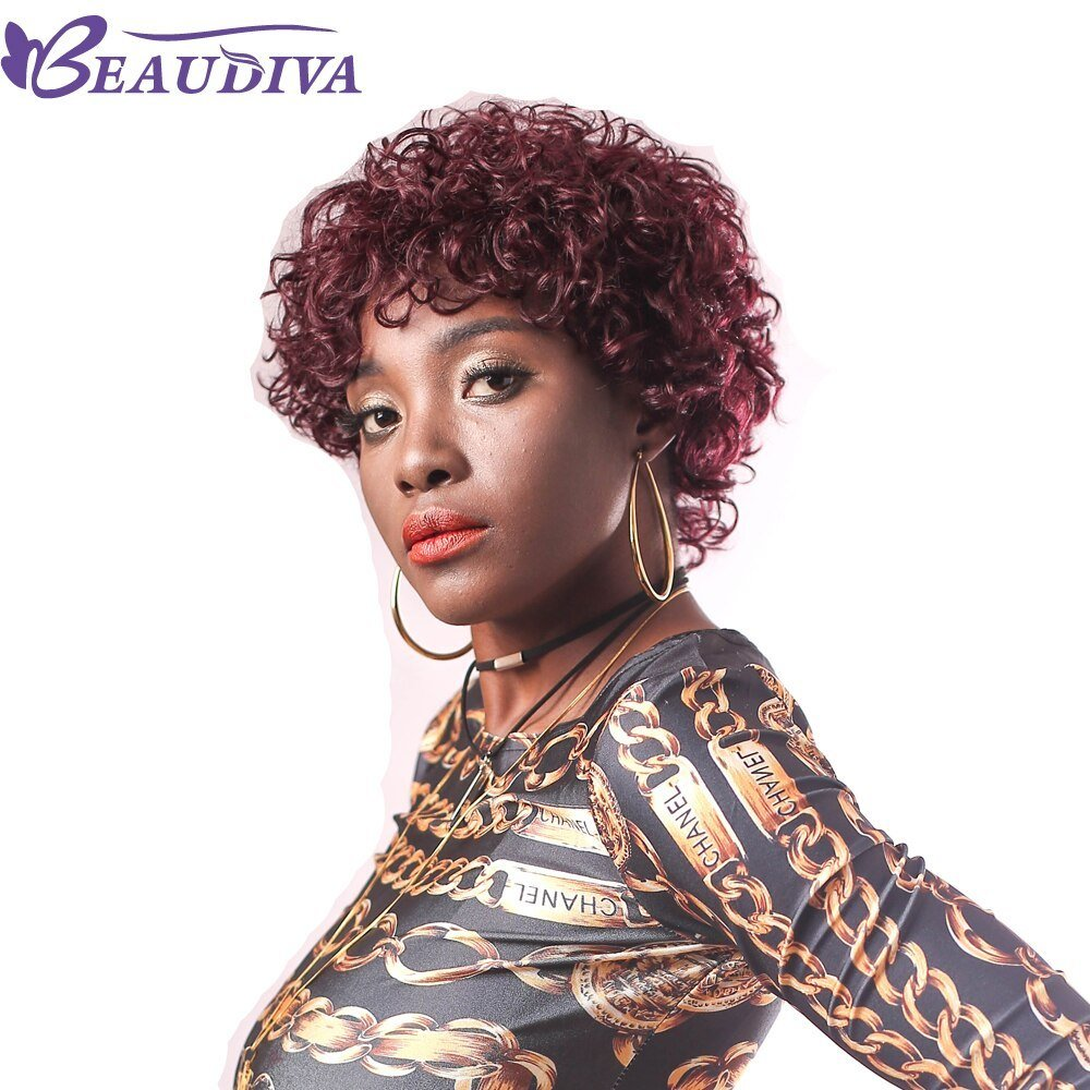 New Beaudiva Pre Colored Human Hair Wigs 950 Color Brazilian Ideas With Pictures