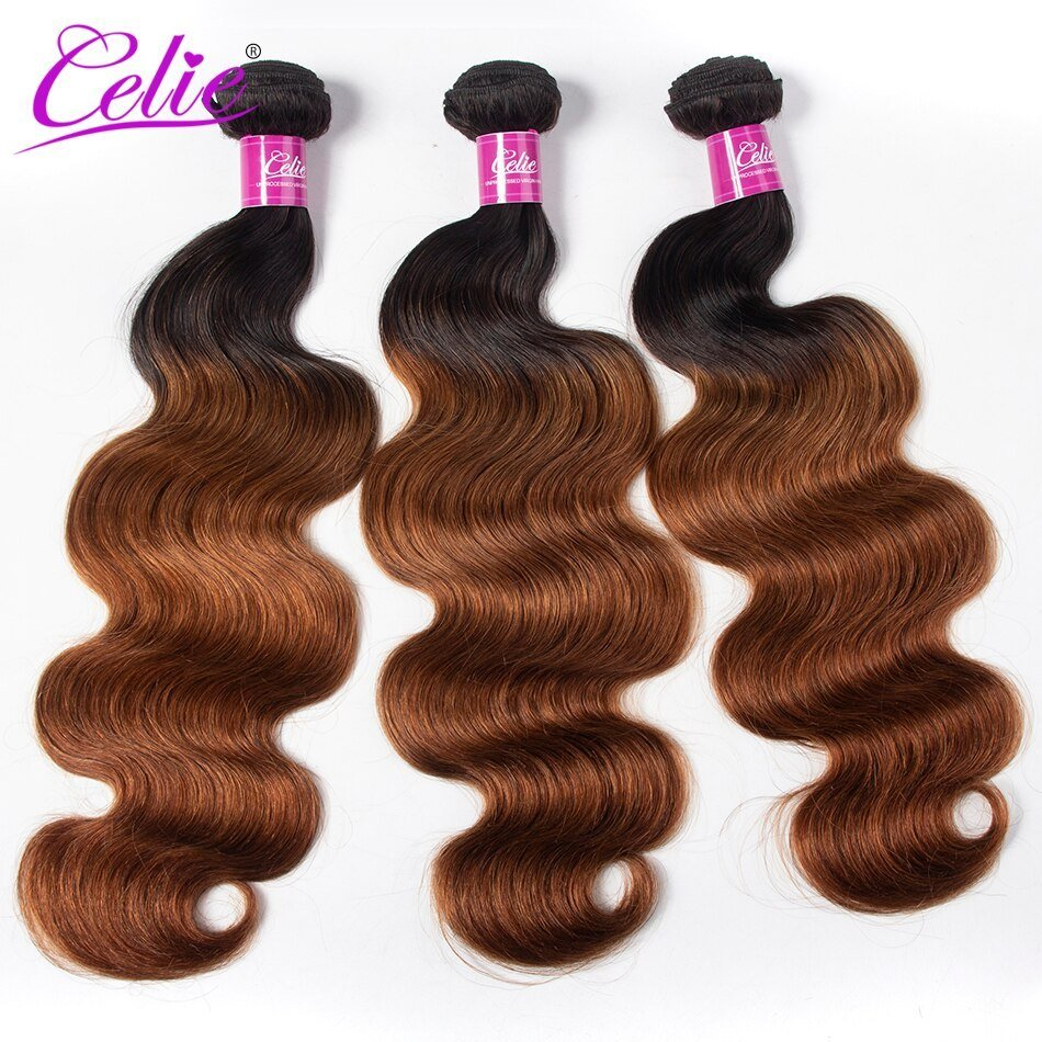 New Celie Hair Colored Brazilian Body Wave Hair Bundles 1B 30 Ideas With Pictures Original 1024 x 768