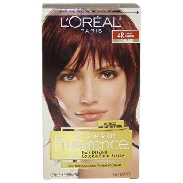 New Shop L Oreal Superior Preference Dark Auburn 4R Hair Ideas With Pictures