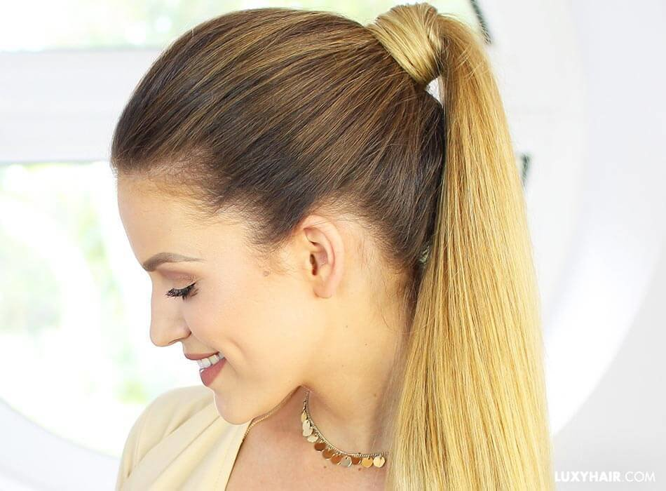 New Different Ways To Wear A Ponytail – Luxy Hair Ideas With Pictures