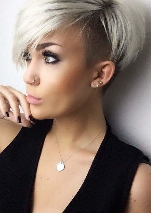 New 51 Edgy And Rad Short Undercut Hairstyles For Women Glowsly Ideas With Pictures
