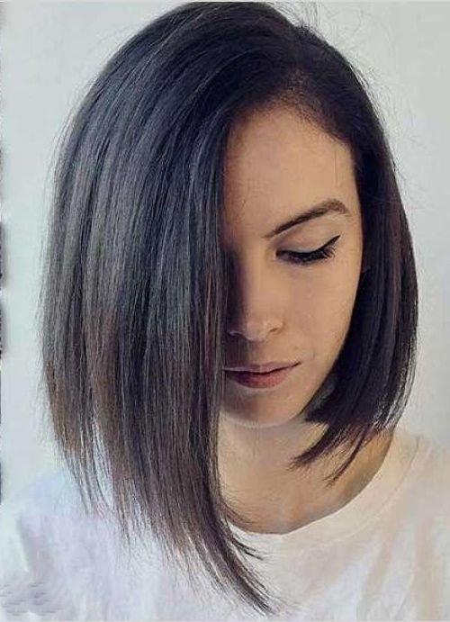 New Easy And Trendy Angled Bob Hairstyles 2019 2019 Haircuts Ideas With Pictures