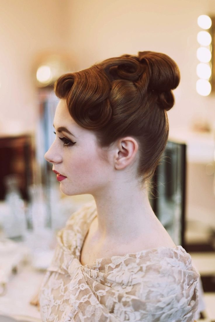New French Pleat Hairstyle 1950 Fade Haircut Ideas With Pictures