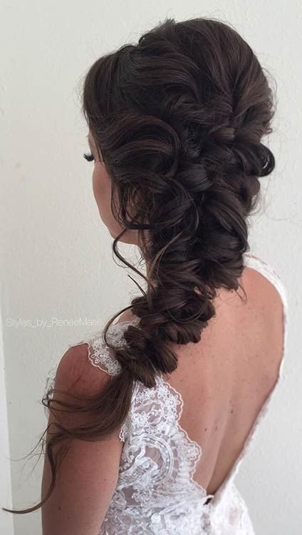 New Elegant Boho Hairstyle For Prom Stayglam Hairstyles In Ideas With Pictures