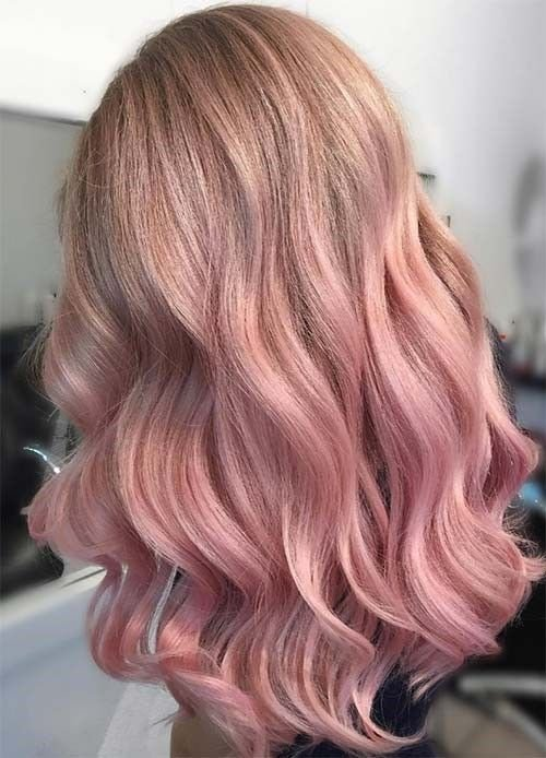 New 25 Beautiful Rose Gold Hair Ideas That Will Change Your Ideas With Pictures