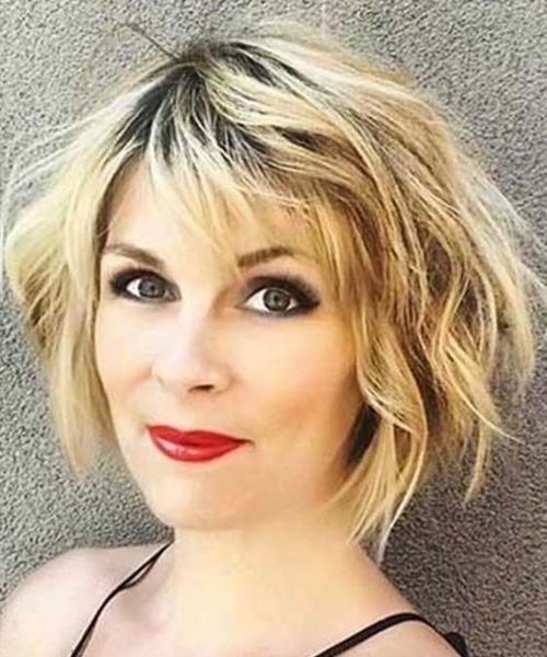 New Excellent Short Messy Haircuts 2019 For Women Over 40 Ideas With Pictures