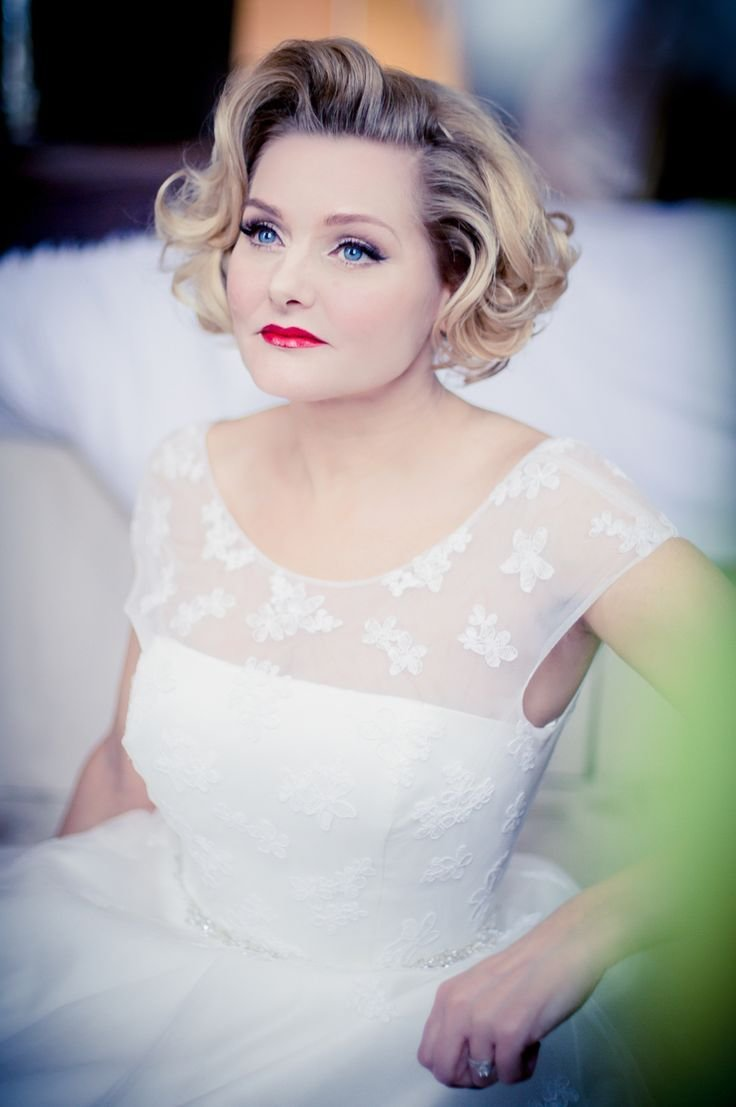 New Best 25 50S Wedding Hair Ideas On Pinterest 1950S Hair Ideas With Pictures