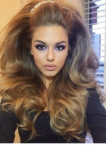 New This Gives Me Life Hair Goals In 2019 Hair Bouffant Hair Long Hair Styles Ideas With Pictures