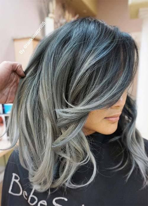 New Best 25 Blue Grey Hair Ideas On Pinterest Silver Blue Ideas With Pictures