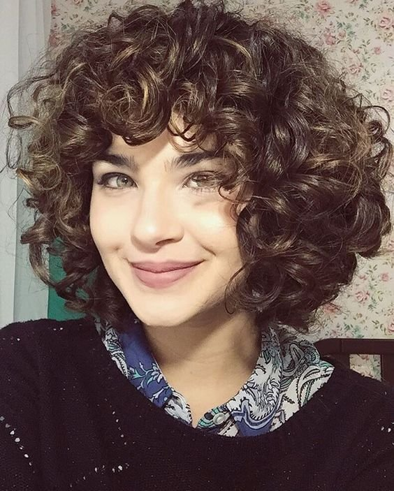 New Short Layered Curly Hair With Bangs My Sh*T Hair Ideas With Pictures