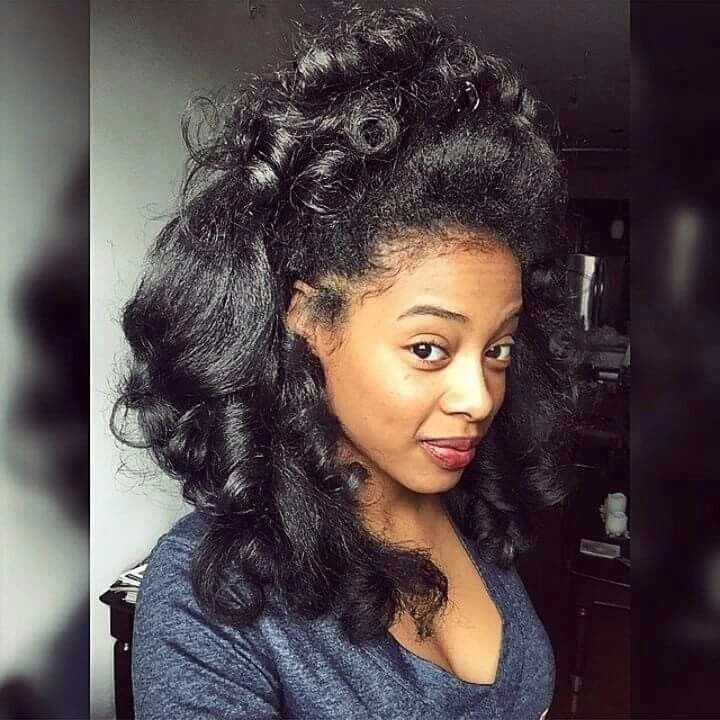 New Transitioning 11 Styles You Can Rock Throughout Your Entire Transition To Natural Hair Gallery Ideas With Pictures