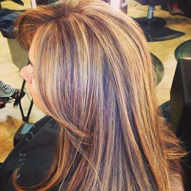 New 3 Color Highlights ♛ Нαιя Ѕтуℓєѕ Ι ℓσσνє ♛ Hair Styles Ideas With Pictures