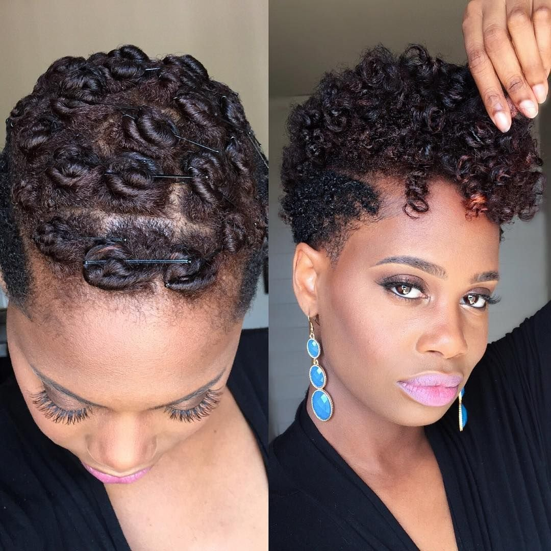 New Pin Curls On Tapered Natural Hair Natural Hair Rocks Ideas With Pictures