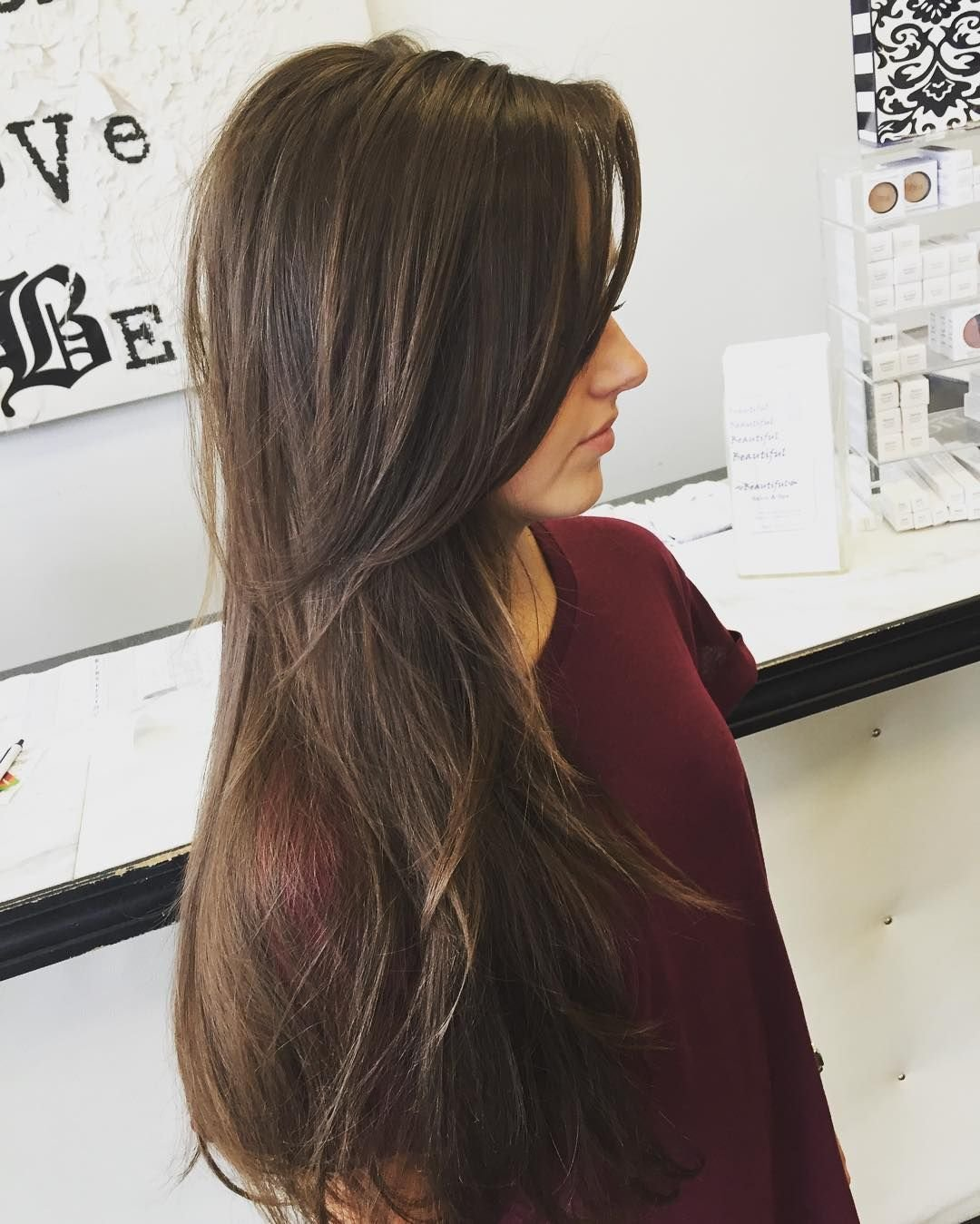 New Long Layers For Thin Hair … Haircut Layer… Ideas With Pictures