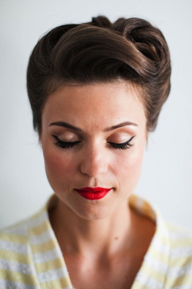 New Go For Some 1950S Glam With This Hairstyle Jasmine Ann Ideas With Pictures