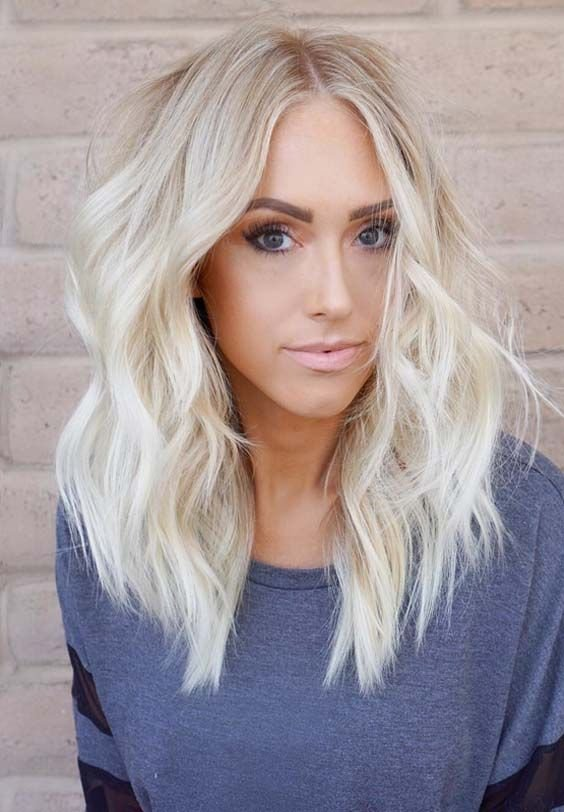 New 70 Prettiest Platinum Blonde Hair Color Ideas In 2018 Ideas With Pictures