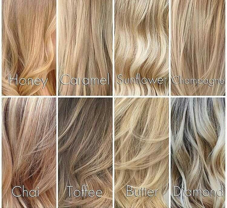 New Different Shades Of Blondes … Hair Dyed Ideas With Pictures