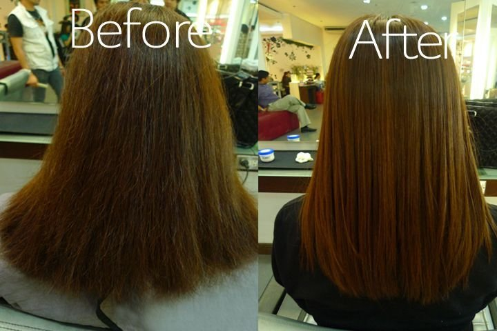 New Get Gorgeous For Only Aed 299 Hair Rebonding Semi Ideas With Pictures