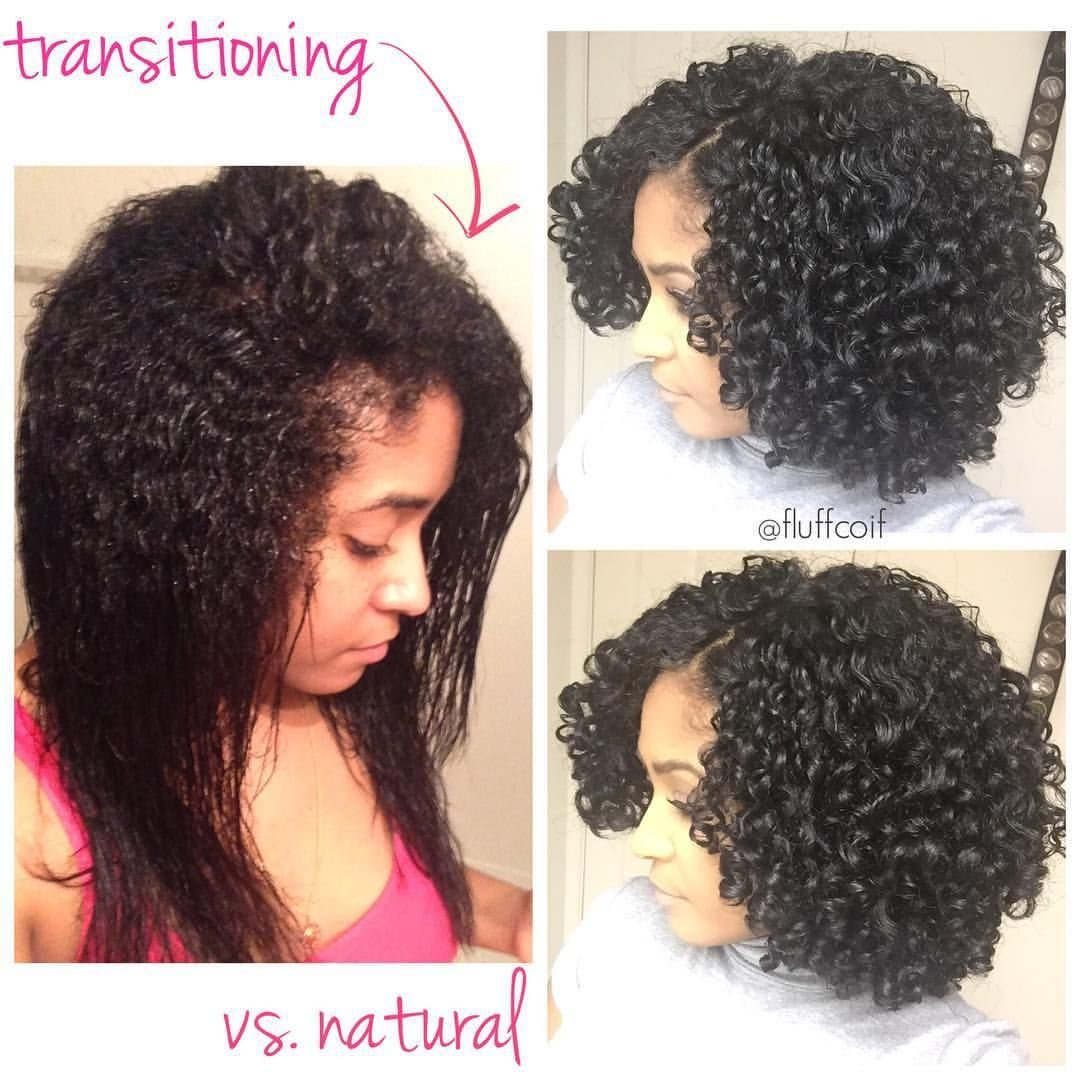 New Transitioning Wash And Go Versus A Fully Natural Wash And Go What A Difference Just Wanted To Ideas With Pictures