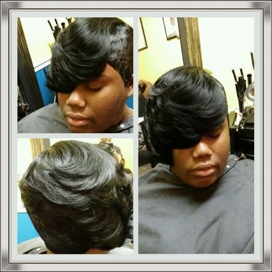 New Quick Weave 27 Piece With Layered Side Styles By Cola Ideas With Pictures