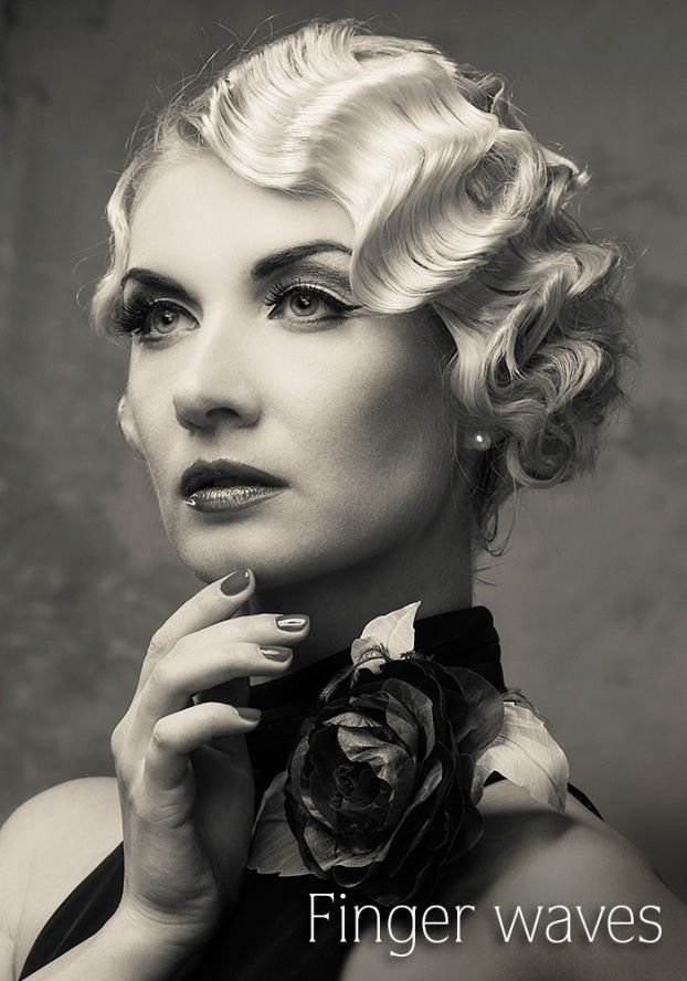 New Say Yes To The Dress Hair Finger Wave Hair Finger Ideas With Pictures