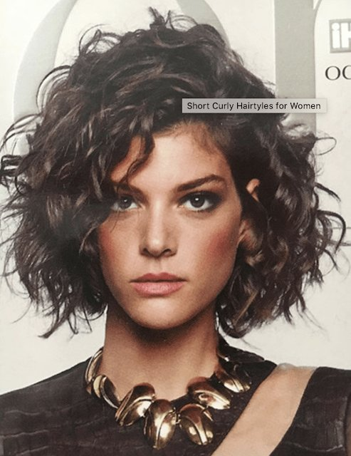 New Newest Curly Hairstyle 2019 Hair In 2019 Short Curly Hair Curly Hair Styles Curly Hair Cuts Ideas With Pictures