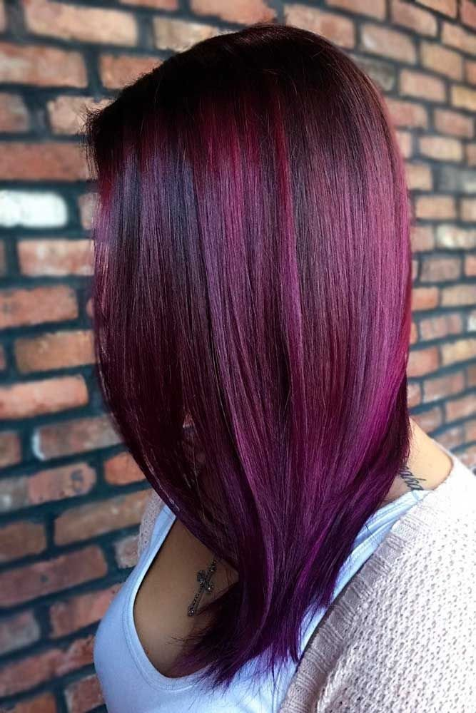 New 27 Purple Red Hair Is The New Black Hair Color De Pelo Ideas With Pictures