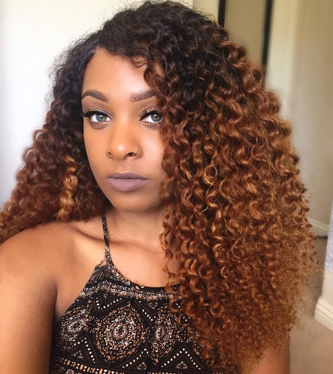 New Curly Textured Wefted Hair In 2019 Natural Hair Colored Curly Hair Dyed Natural Hair Brown Ideas With Pictures